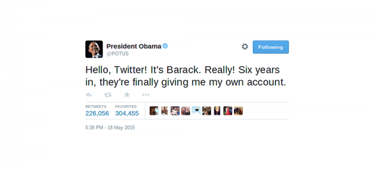 Flashback : les premiers tweets des politiques